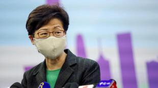 香港特首林正月娥早已上了美国制裁名单,现在,她的安全及警务高官以及北京派驻香港高官一个个上了名单。
