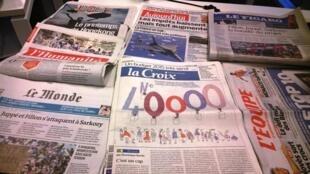 Diários franceses 02/10/2014