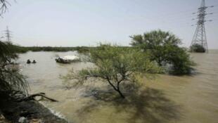 Kogin Nilu da ya ratsa  Khartoum, babban birnin kasar Sudan.