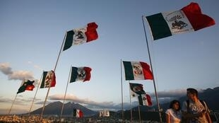 """Celebrations of the 200th anniversary of priest Hidalgo y Costilla's """"Cry for Independence"""" in Monterrey, Mexico."""