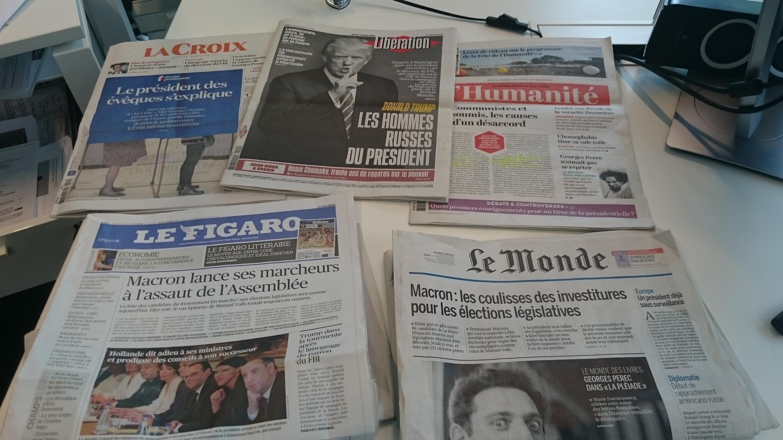 Diários franceses 11.05.2017