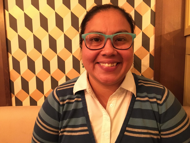 Esdra Sosa se bat au sein de l'association Arcoiris au Honduras, elle dénonce l'augmentation des assassinats de personnes LGBT.