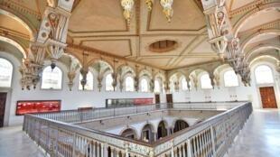 La galerie de Carthage du Musée national du Bardo, à Tunis, en Tunisie. © Musée national du Bardo