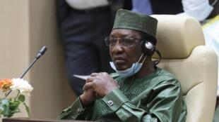 Le président tchadien Idriss Déby au sommet du G5 Sahel, le 30 juin 2020.