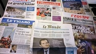 Diários franceses 22/06/2015