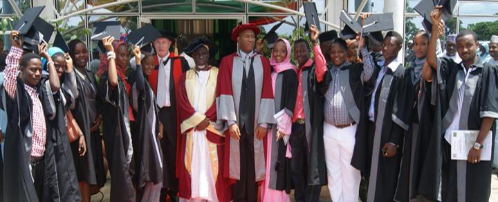 Graduates from Baze University, Abuja, Nigeria