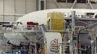 Airbus's A380 assembly site at Blagnac, near Toulouse