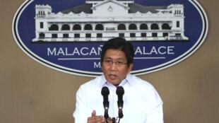 Herminio Coloma Jr, Phát ngôn viên Phủ Tổng thống Philippines - Reuters
