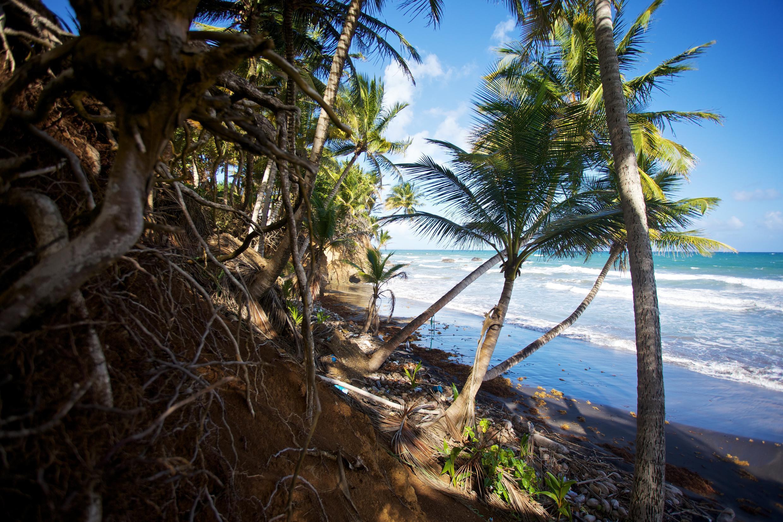 Une plage en Guadeloupe, le 23 décembre 2020