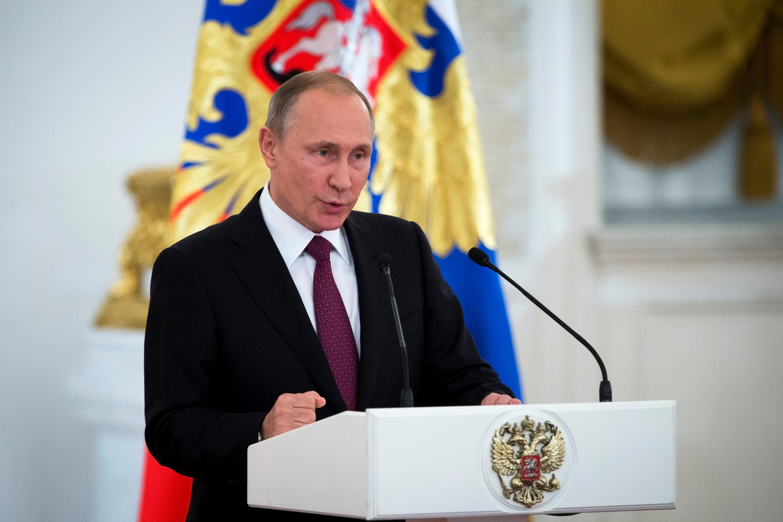Vladimir Putin, Presidente  da Federação da Rússia.Moscovo. 06 de Outubro de 2016
