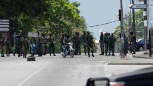 Des mutins mobilisés à Abidjan, vendredi 12 mai 2017 (photo d'illustration).