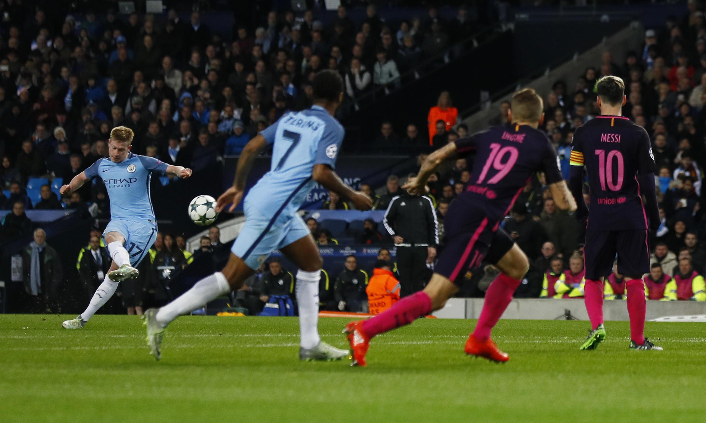 Manchester City ta doke FC Barcelona 3-1