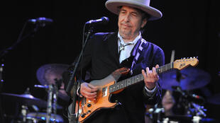 Bob Dylan en el festival de Vieilles Charrues, en Carhaix (Finisterre, Francia) en 2012