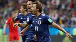 日本队在2比0领先欧洲强队比利时的情形下在补时阶段遭后者逆转,最终以2比3遭淘汰。