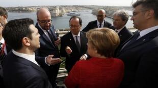 نشست رهبران کشورهای اروپایی در مالت. ٣ فوریه ٢٠۱٧