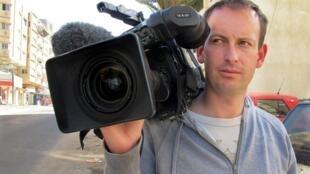 2012年1月11日在叙利亚遇害的法国电视二台记者吉尔•雅基耶