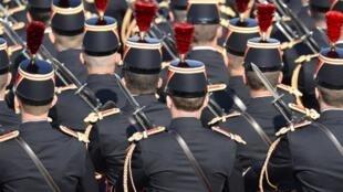 La Garde républicaine, le 14 juillet 2013.
