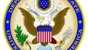图为美国国务院标识