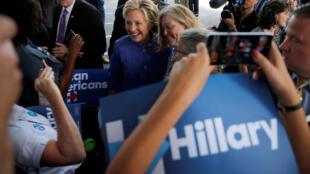 Hillary Clinton vận động tại Florida ngày 30/10/2016.