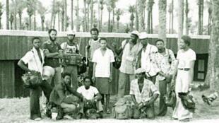 L'orchestre « Super Mama Djombo », au fait de sa gloire dans les années qui suivirent l'indépendance de la Guinée Bissau.