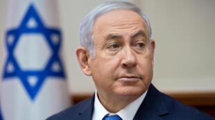 El Primer Ministro israelí, Benjamin Netanyahu, convocó para el próximo domingo a su gabinete de seguridad.