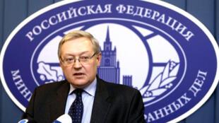 سرگئی ریابکوف معاون وزیر امور خارجۀ روسیه.