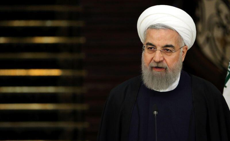 In favour of more talks: Iranian president Hassan Rohani.