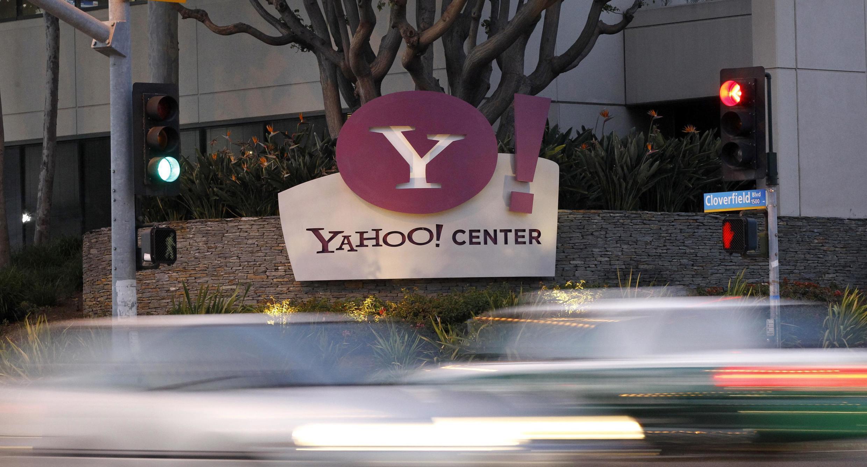 Trụ sở của tập đoàn Yahoo tại Santa Monica (California) - Hoa Kỳ. Ảnh chụp ngày 18/04/2011.