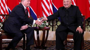 US president Donald Trump and the North Korean leader, Kim Jong Un, held their first summit in Singapore in 2018.