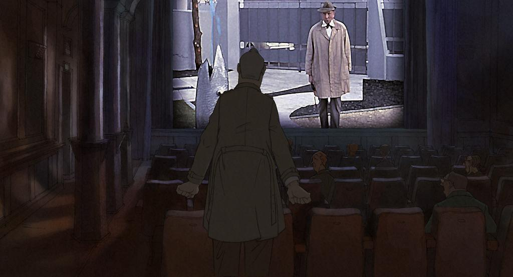 Фокусник Татищев видит в кино Жака Тати в роли господина Юло.