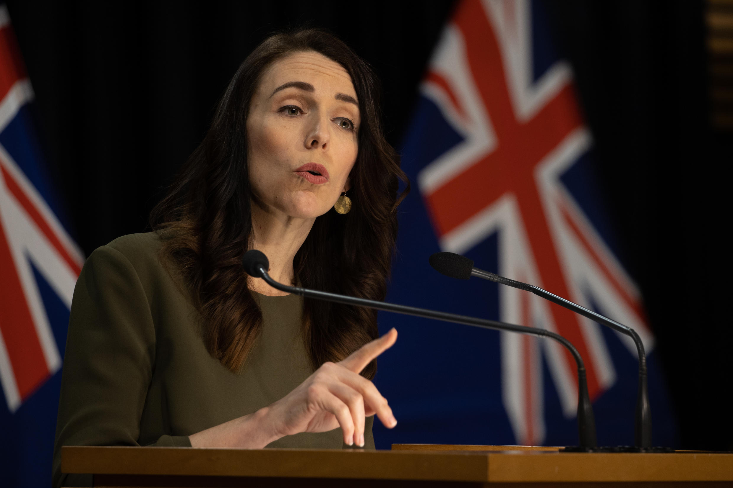 Confident: New Zealand should be able to host Bledisloe Cup, says Prime Minister Jacinda Ardern