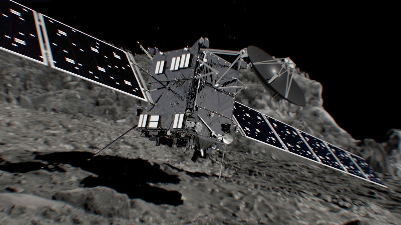 យានអវកាស Rosetta បញ្ចប់បេសកកម្មជាប្រវត្តិសាស្រ្តដោយធ្វើអត្តឃាតលើផ្កាយដុះកន្ទុយ Tchouri