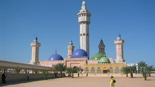 The Great Mosque of Touba, Senegal