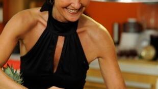 A chef de cozinha brasileira, Sabine Hueck.