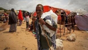 Sansanin 'Yan gudun hijira a kasar Somalia