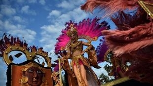 Карнавал в Панаме.