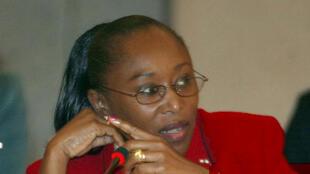 Béatrice Epaye, membre du Conseil national de transition en Centrafrique.