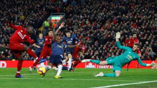 Liverpool es el actual líder de la Liga Premier, seguido por Manchester City y Tottenham.