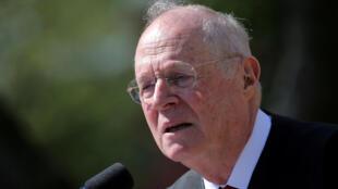 Anthony Kennedy, 81 ans, a servi pendant 30 ans à la Cour suprême.