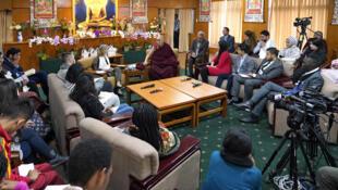 达赖喇嘛出席活动资料图片