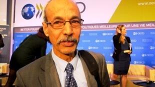 Mohamed Ould Tolba au centre de conférences de l'OCDE, le 31 mars 2016 à Paris.