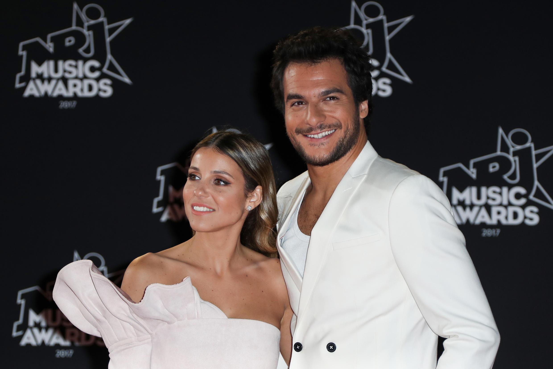 Певец Амир с супругой Литаль на конкурсе NRJ Music Awards в Каннах 4 ноября 2017