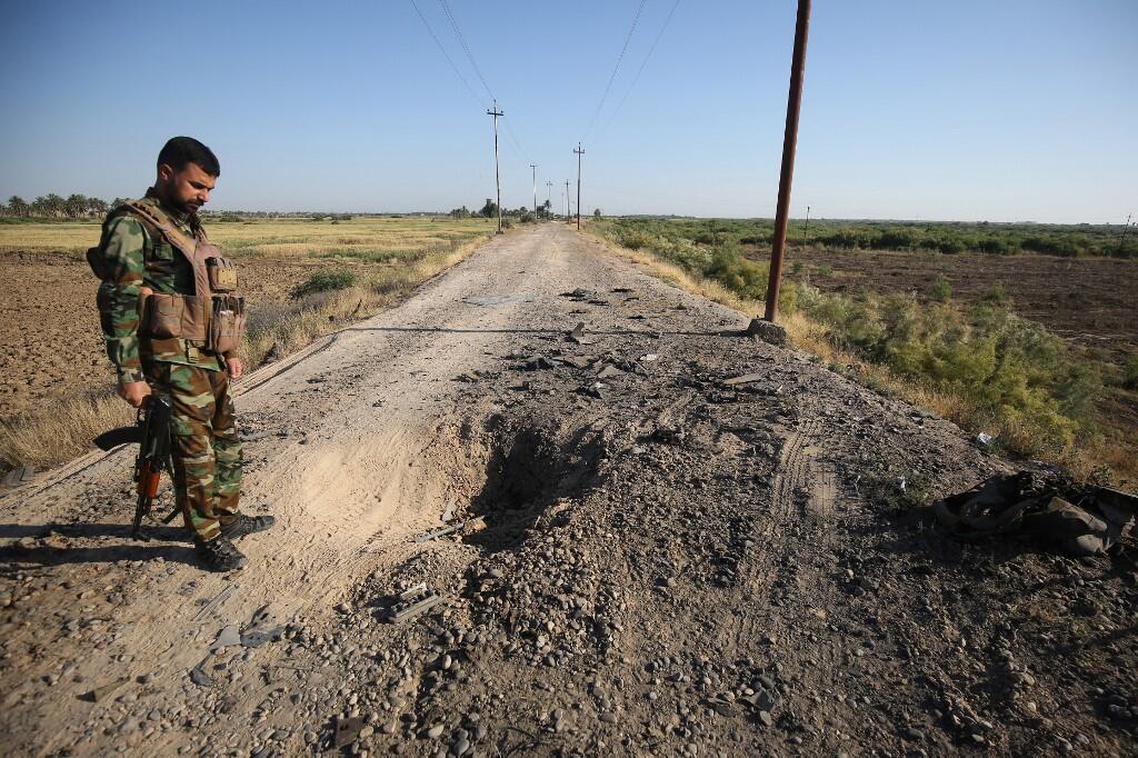 Imagen de archivo de un combatiente iraquí