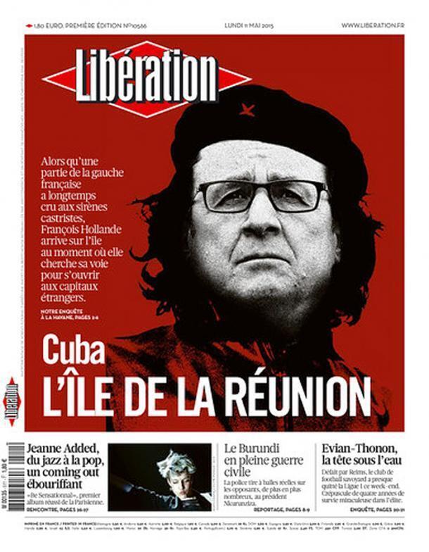 Capa do jornal francês Libération desta segunda-feira, 11 de maio de 2015.