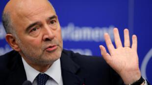 Pierre Moscovici, à Strasbourg, le 23 octobre 2018.