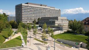 Imagem do Centro Hospitalar de Lausanne, na Suíça