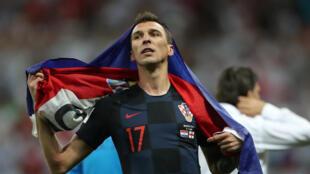 Mario Mandzukic, buteur décisif face à l'Angleterre.