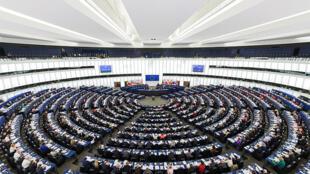 Sede do parlamento europeu, em Estrasburgo. Eleições em 2019 irão renovar os parlamentares do bloco.