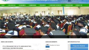 Le site de l'université Simad à Mogadiscio en Somalie. (Capture d'écran)