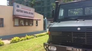 L'auditorat général des Forces armées de la RDC.
